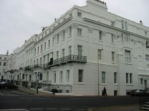 Thumbnail 2 bedroom flat to rent in Sussex Square, Brighton