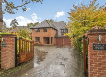 Thumbnail 5 bed detached house for sale in Blackwood Close, West Byfleet