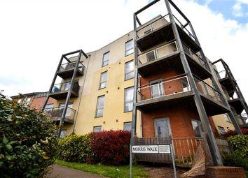 Thumbnail 2 bed flat for sale in Morris Walk, Dartford