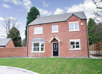 Thumbnail 4 bedroom detached house for sale in Scalpcliffe Road, Burton-On-Trent