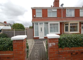 Thumbnail 3 bedroom end terrace house for sale in Sandgate, Blackpool, Lancashire
