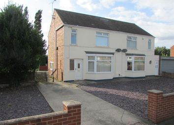 Thumbnail 2 bed semi-detached house for sale in Scotter Road, Scunthorpe