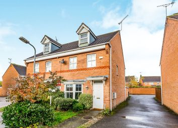 Thumbnail 3 bedroom town house for sale in Treefields, Buckingham