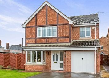 Thumbnail 4 bed detached house for sale in Martindale Close, Staveley, Chesterfield