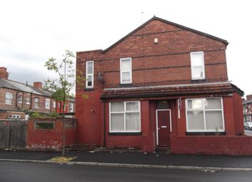 Thumbnail 3 bedroom end terrace house for sale in Crofton Street, Rusholme, Manchester