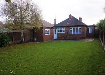 Thumbnail 2 bed bungalow for sale in Peveril Drive, Stockport