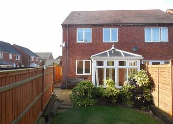 Thumbnail 3 bed town house for sale in Merry Hurst Place, Hinckley