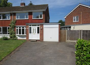 Thumbnail 3 bed semi-detached house for sale in Leawood Grove, Kidderminster