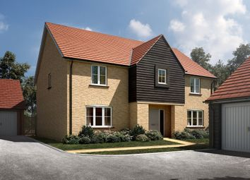 "Thumbnail 5 bedroom detached house for sale in ""The Wells"" at Radwinter Road, Saffron Walden, Essex, Saffron Walden"