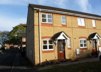 Thumbnail 2 bed end terrace house to rent in David Chalmers Close, Woodston, Peterborough