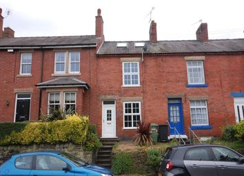 Thumbnail 2 bed terraced house to rent in Derby Road, Ambergate, Belper