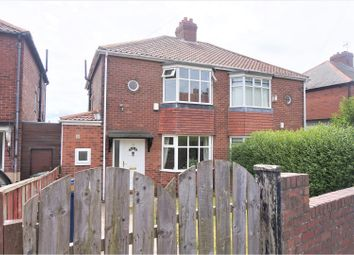 Thumbnail 2 bedroom semi-detached house for sale in Clovelly Avenue, Newcastle Upon Tyne