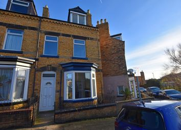 Thumbnail 4 bed terraced house for sale in Candler Street, Scarborough