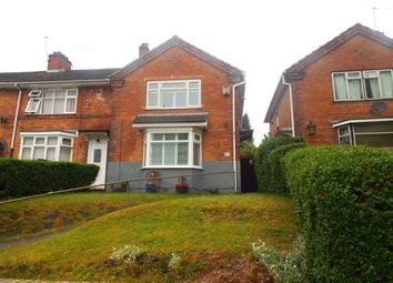 Thumbnail 3 bed end terrace house for sale in Allcroft Road, Tyseley, Birmingham