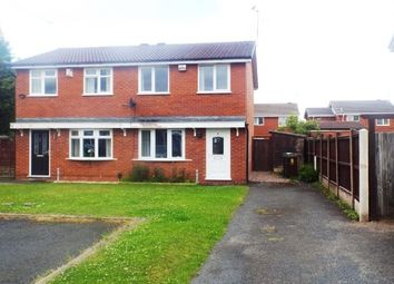 Thumbnail 2 bedroom semi-detached house to rent in Chetwood Close, Wolverhampton