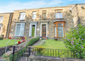 Thumbnail 5 bedroom semi-detached house for sale in Pentrepoeth Road, Morriston, Swansea