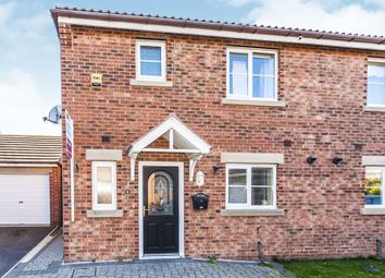 Thumbnail 3 bed semi-detached house for sale in Rosebud Close, Hartlepool