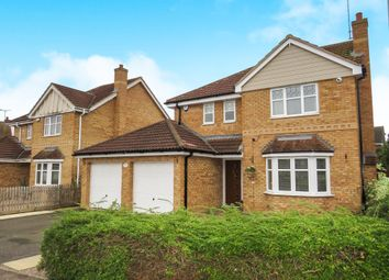 Thumbnail 4 bed detached house for sale in Humber Drive, Yaxley, Peterborough