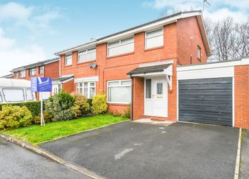 Thumbnail 3 bed semi-detached house to rent in Gloucester Close, Woolston, Warrington