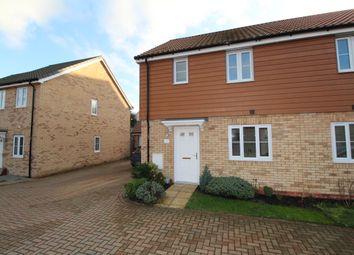 Thumbnail 3 bed semi-detached house to rent in Brick Drive, Great Blakenham, Ipswich