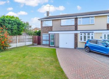 Thumbnail 3 bed semi-detached house for sale in Meadway, Benfleet