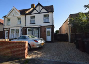 Thumbnail 3 bed semi-detached house to rent in South Stour Avenue, Ashford, Kent