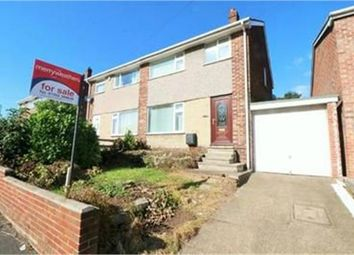Thumbnail 3 bed semi-detached house for sale in Howden Avenue, Skellow, Doncaster