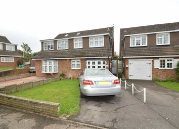 Thumbnail 4 bed semi-detached house to rent in Tryfan Close, Redbridge, Essex