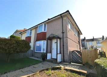 Thumbnail 3 bed semi-detached house for sale in Long Rowden, Peverell, Plymouth