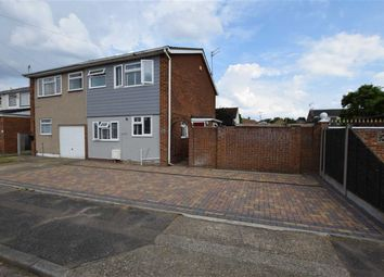 Thumbnail 4 bed semi-detached house for sale in Gideons Way, Stanford-Le-Hope, Essex
