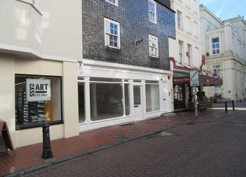 Thumbnail Retail premises to let in 23 Market Street, Brighton