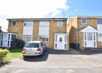 Thumbnail 3 bed semi-detached house for sale in Oving Close, Luton