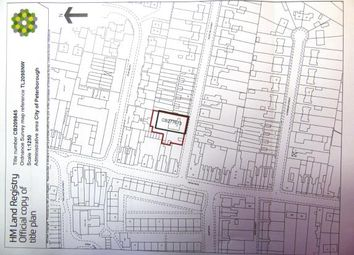 Thumbnail Land for sale in Glenton Street, Eastgate, Peterborough, Cambridgeshire
