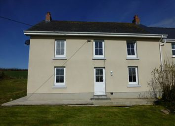 Thumbnail 4 bed detached house to rent in Tavernspite, Whitland