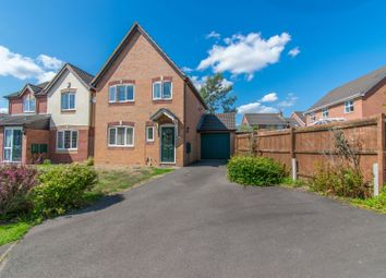 Thumbnail 3 bed detached house for sale in Orsett Close, Leicester