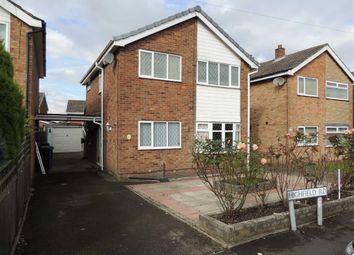 Thumbnail 3 bed detached house to rent in Highfield Road, Hazel Grove, Stockport