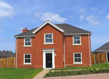 Thumbnail 4 bed detached house for sale in Pine Tree Close, Holton, Halesworth