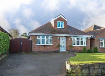 Thumbnail 4 bed detached bungalow for sale in Hill Rise, Burbage, Hinckley