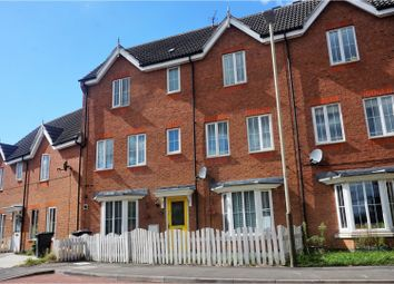 Thumbnail 4 bedroom town house for sale in Oakwood Road, Leicester