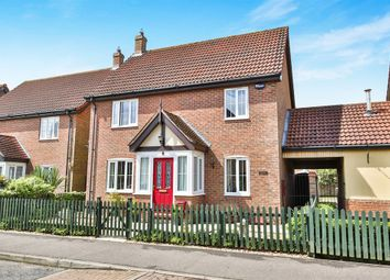 Thumbnail 3 bedroom detached house for sale in Wheatcroft Way, Dereham
