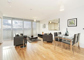 Thumbnail 2 bed flat to rent in Edmunds House, Chiswick Point, Colonial Drive, London