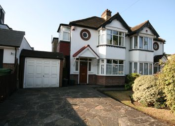 Thumbnail 3 bed semi-detached house for sale in Pine Avenue, West Wickham, Kent