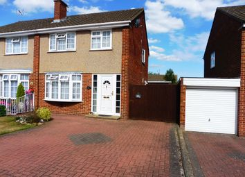 Thumbnail 3 bed semi-detached house for sale in Chaucer Road, Bletchley, Milton Keynes