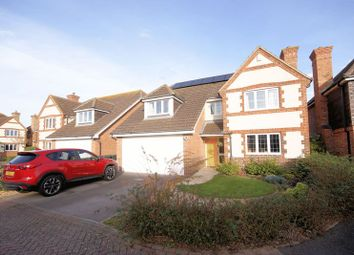 Thumbnail 4 bed detached house for sale in Glenney Close, Lee-On-The-Solent