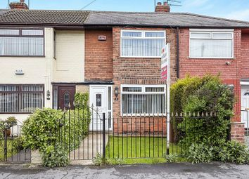 Thumbnail 2 bed terraced house to rent in Manor Road, Hull