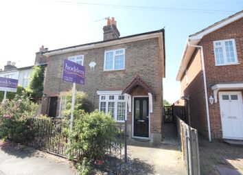 Thumbnail 2 bed semi-detached house to rent in Mead Lane, Chertsey, Surrey
