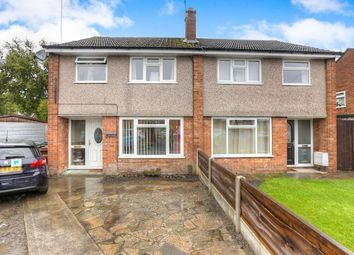 Thumbnail 3 bed semi-detached house to rent in Dunster Close, Hazel Grove, Stockport