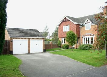 Thumbnail 4 bed detached house for sale in The Croft, Shirland, Alfreton