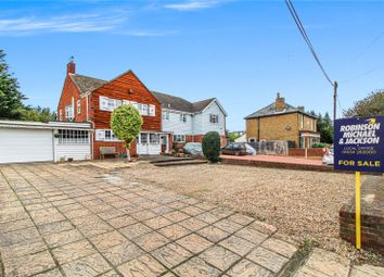Lower Rainham Road, Rainham, Kent ME8. 4 bed semi-detached house for sale