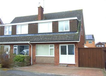 Thumbnail 3 bed semi-detached house for sale in Olton Road, Mickleover, Derby